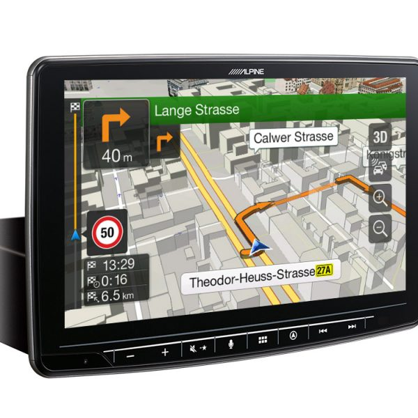 sistema multimediale Alpine